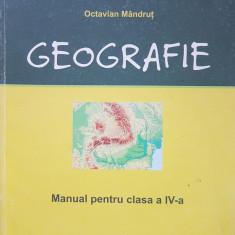 GEOGRAFIE MANUAL PENTRU CLASA A IV-A - Mandrut, Clasa 4
