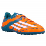 Ghete Fotbal Adidas Messi 104 TF J B40258, 36 2/3, 38, Orange, Copii