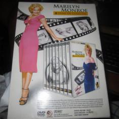 Dvd marilyn monroe toata colectia in pachet original 8 buc  nu separate, Romana