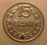2.281 ROMANIA RSR 15 BANI 1966