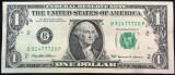 Bancnota 1 Dolar (Dollar) - SUA, anul 1999  A.UNC  *Cod 40