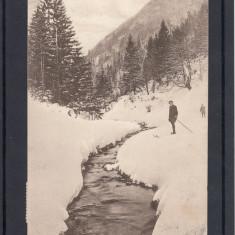 ZARNESTI   VALEA  RAULUI  FOTOGRAF  V. GREGORSCH  ZARNESTI  CIRCULATA 1926, Printata