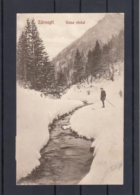 ZARNESTI   VALEA  RAULUI  FOTOGRAF  V. GREGORSCH  ZARNESTI  CIRCULATA 1926 foto