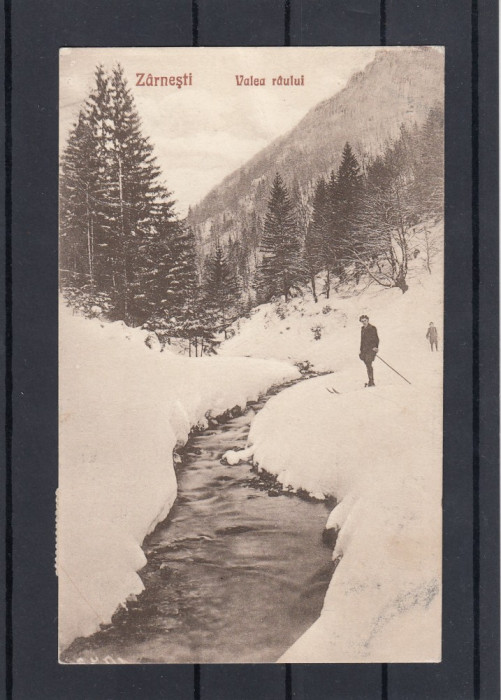 ZARNESTI   VALEA  RAULUI  FOTOGRAF  V. GREGORSCH  ZARNESTI  CIRCULATA 1926