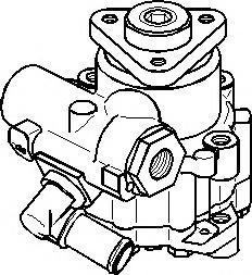 Pompa hidraulica, sistem de directie AUDI A4 limuzina 1.6 - TOPRAN 112 445 foto