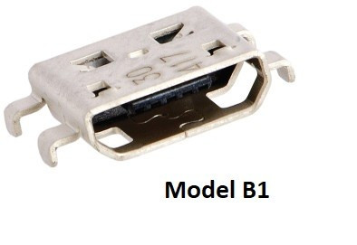 Conector / Mufe Micro USB pentru cablaj / PCB reparatii