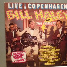 BILL HALEY  & The Comets – LIVE IN COPENHAGEN (1970/POLYDOR/RFG) - Vinil/NM+