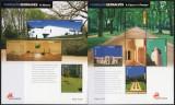 PORTUGALIA 2005, Arhitectura, Parcuri, MNH, Fauna, Nestampilat