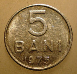 2.284 ROMANIA RSR 5 BANI 1975, Aluminiu