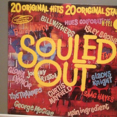 SOULED OUT – VARIOUS ARTISTS : Barry White/I.Hayes...(1975/K-TEL/RFG) - Vinil/NM, decca classics