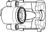 Etrier frana AUDI A3 Sportback 1.6 - TOPRAN 110 282