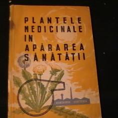 PLANTELE MEDICINALE IN APARAREA SANATATII-CORNELIUN C,TINESCU-