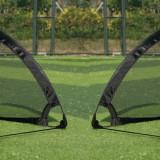 Set porti mini-fotbal pentru antrenament sau divertisment - pliabile - Noi