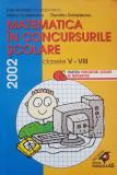 MATEMATICA IN CONCURSURILE SCOLARE CLASELE V-VIII - Branzei