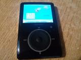 MP4 SANSA SANDISK FUZE 2GB PERFECT FUNCTIONAL+CABLU DE DATE.PENTRU AUDIOFILI!, Negru