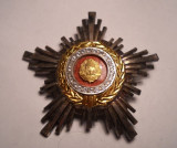 Ordinul Steaua Romaniei RSR Clasa a 3 a Superb Piesa de Colectie