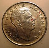 2.321 ROMANIA MIHAI I 100 LEI 1943 EROARE lacrima varianta