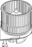 Electromotor, ventilatie interioara OPEL VECTRA B hatchback 2.0 i 16V - TOPRAN 207 331