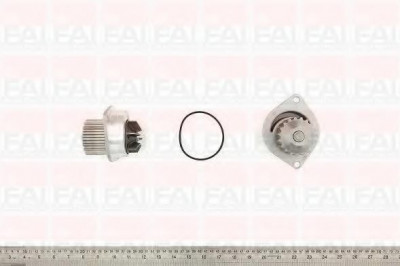 pompa apa DACIA LOGAN 1.4 MPI LPG - FAI AutoParts WP6038 foto
