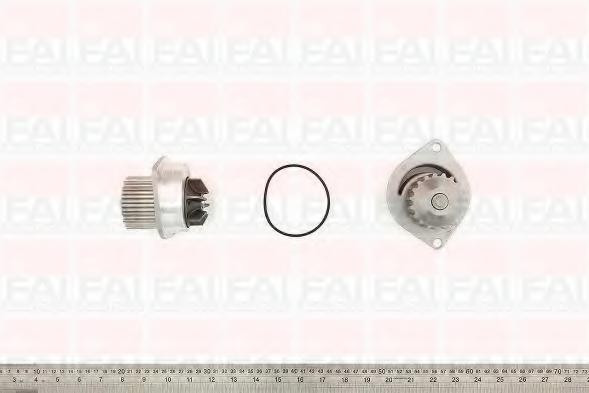 pompa apa DACIA LOGAN 1.4 MPI LPG - FAI AutoParts WP6038
