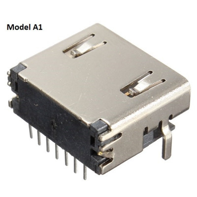Conector / Mufe HDMI pentru cablaj / PCB reparatii foto