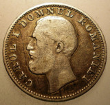 R.036 ROMANIA CAROL I 1 LEU 1870 C ARGINT 4,87g