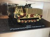 Macheta tanc M548 A1 - Fulda - 1979 + revista scara 1:72