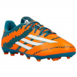 Ghete Fotbal Adidas Messi 103 B44179, 28.5, 33, 33.5, 35, 36 2/3, 37 1/3, Orange, Copii