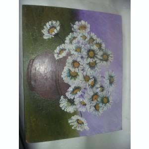 Tablou fara rama,pictura veche semnata,DE COLECTIE,Superb,33 cm/40cm,Tp.GRATUIT