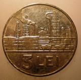 2.352 ROMANIA RSR 3 LEI 1966