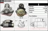 starter RENAULT GRAN TOUR III combi 1.5 dCi - DELCO REMY DRS3985