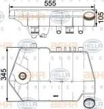 Vas de expansiune, racire DAF XF 105 FT 105.460 - BEHR HELLA SERVICE 8MA 376 731-621