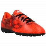Ghete Fotbal Adidas F5 TF B40563, 37 1/3, Negru, Copii