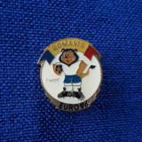Insigna fotbal Romania Euro 1996