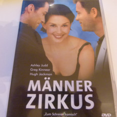 Manner zirkus -dvd, Engleza