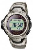 Casio PRW-500T-7VER ceas barbati titan nou 100% original. Garantie, Casual, Quartz