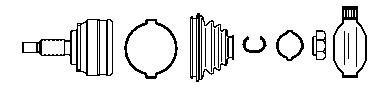 Set articulatie, planetara ZAZ TAVRIA 1.1 - FARCOM 134634