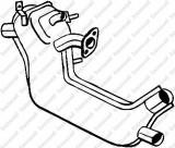 Toba esapamet intermediara VW CAROCHA 1300 - BOSAL 233-001