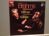 BRAHMS – VIOLIN CONCERT D-dur op 77 (1976/EMI/RFG) - VINIL/ca NOU, emi records