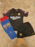 Echipament Barcelona+jambiere,copii 4-16 ani,model NOU 2018-2019 ,1 TER STEGEN, YXS, Set echipament fotbal