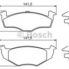 Placute frana VW GOL 1.6 Flex - BOSCH 0 986 494 005