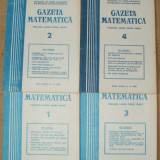 GAZETA MATEMATICA numerele 1,2,3,4,5,7,8,9,11,12 anul 1981