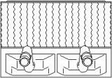 Schimbator caldura, incalzire habitaclu OPEL VITA B 1.5 D - TOPRAN 205 792