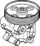 Pompa hidraulica, sistem de directie CITROËN DISPATCH 2.0 HDi 95 - TOPRAN 722 819