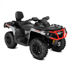 ATV Can-Am Outlander MAX XT 650 Brushed Aluminum Can-Am Red 2018