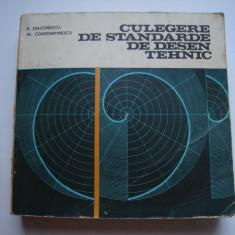 Culegere de standarde de desen tehnic - E.Diaconescu, Al.Constantinescu