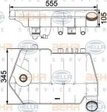 Vas de expansiune, racire DAF XF 105 FT 105.460 - HELLA 8MA 376 731-621