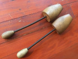 Vintage - Sanuri din lemn / calapod pentru incaltaminte /  Muresul Arad !