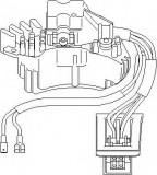 Comutator ventilator,incalzire/ventilatie MERCEDES-BENZ C-CLASS limuzina C 250 D - TOPRAN 401 672