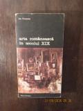 ARTA ROMANEASCA IN SECOLUL XIX -ION FRUNZETTI